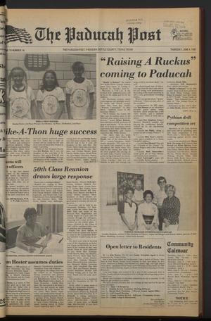 The Paducah Post (Paducah, Tex.), Vol. 75, No. 14, Ed. 1 Thursday, June 4, 1981