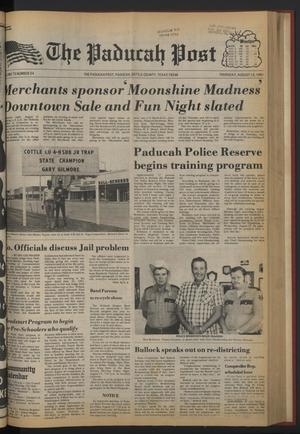 The Paducah Post (Paducah, Tex.), Vol. 75, No. 24, Ed. 1 Thursday, August 13, 1981