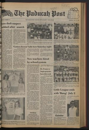 The Paducah Post (Paducah, Tex.), Vol. 75, No. 19, Ed. 1 Thursday, July 9, 1981