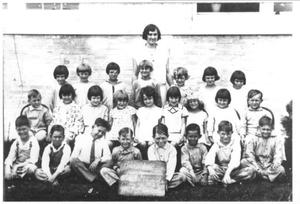 [First Grade class of 1929 from Robert E. Lee School]