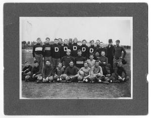 Primary view of object titled 'Denton High SChool Football Team'.