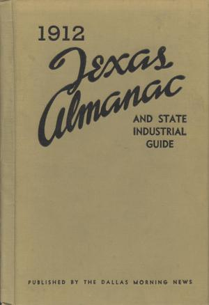 Primary view of object titled 'Texas Almanac and State Industrial Guide 1912'.