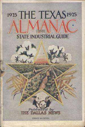 Primary view of object titled 'The Texas Almanac and State Industrial Guide 1925'.