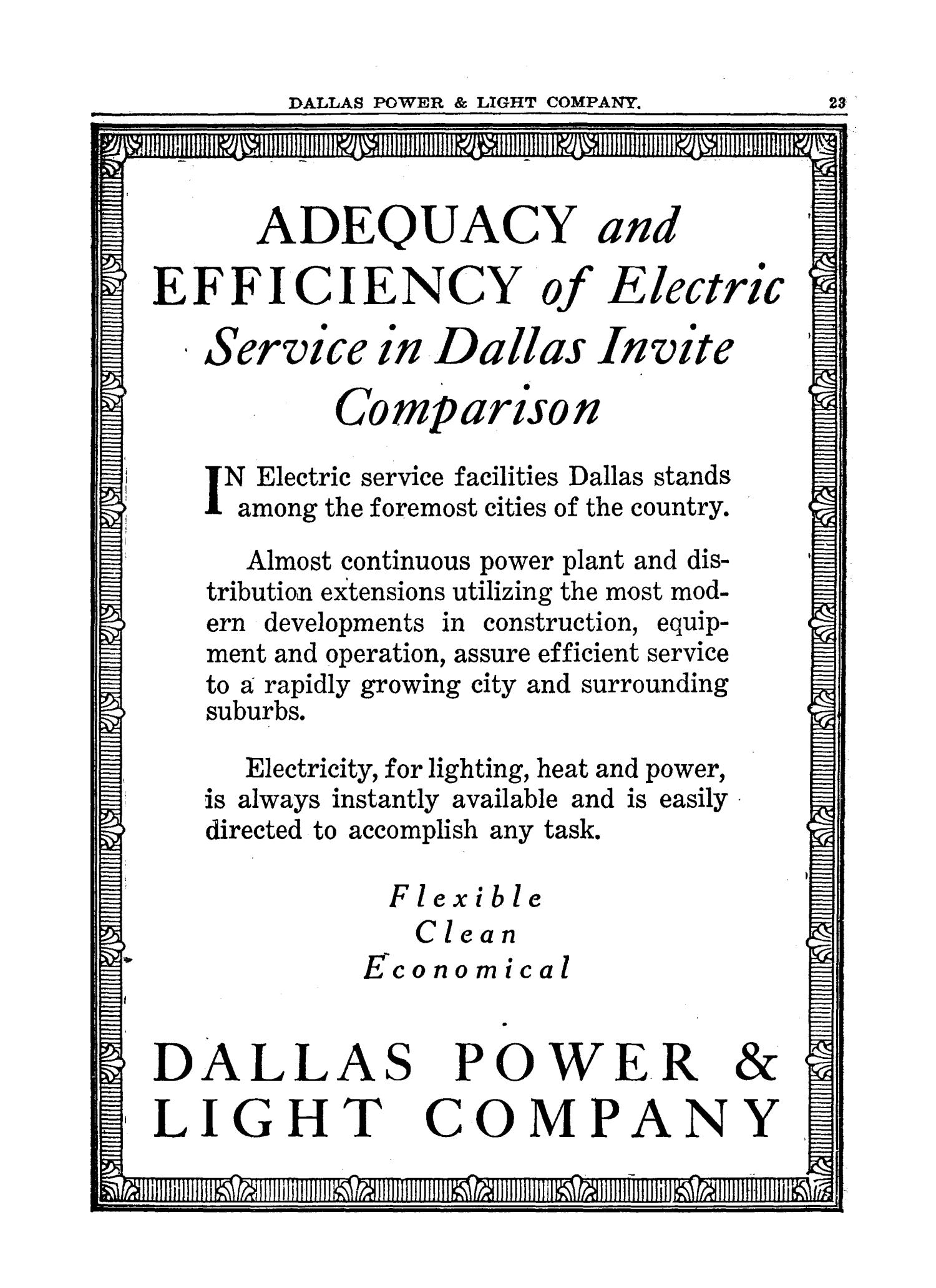 1927 The Texas Almanac and State Industrial Guide                                                                                                      23