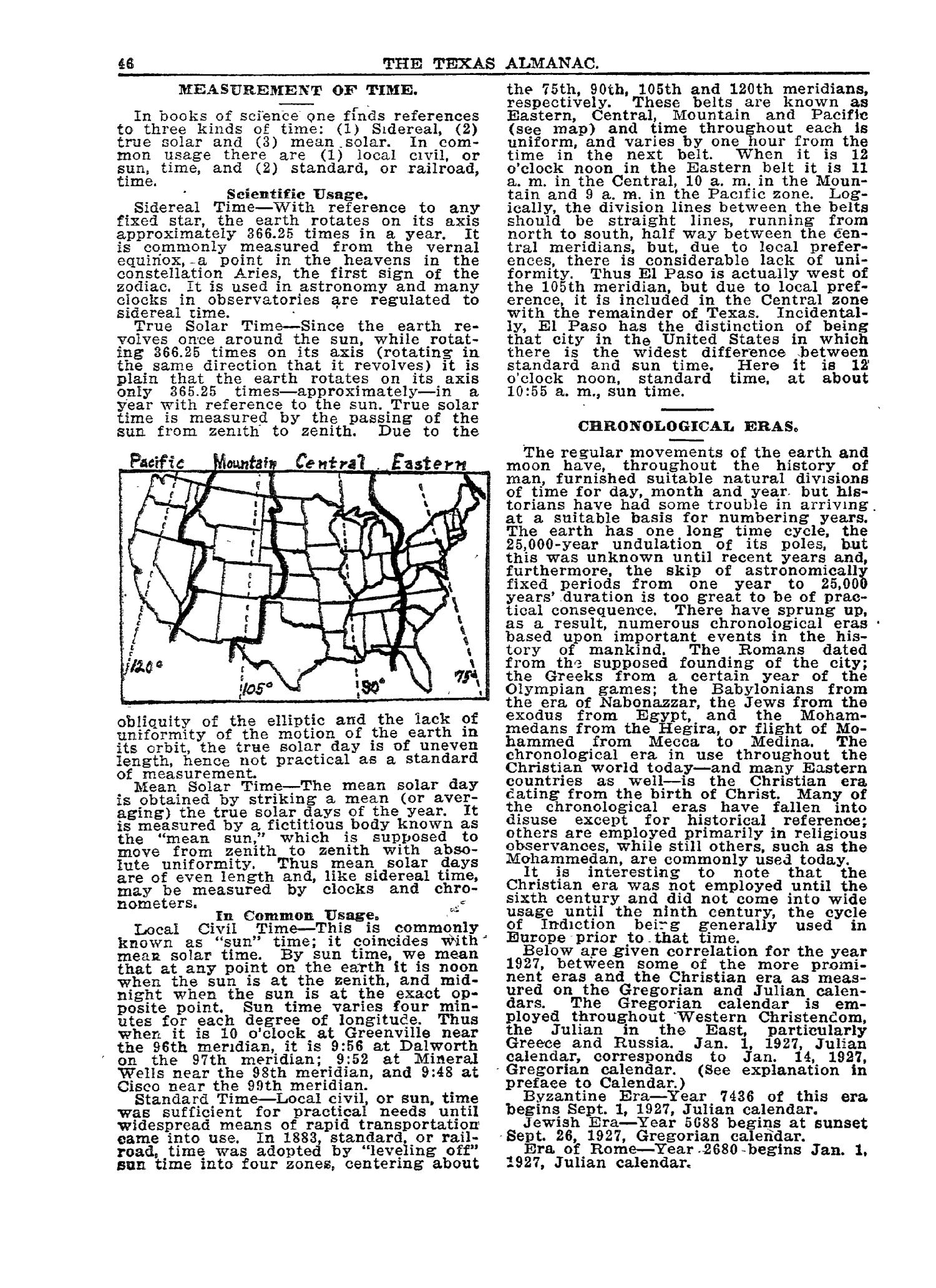 1927 The Texas Almanac and State Industrial Guide                                                                                                      46