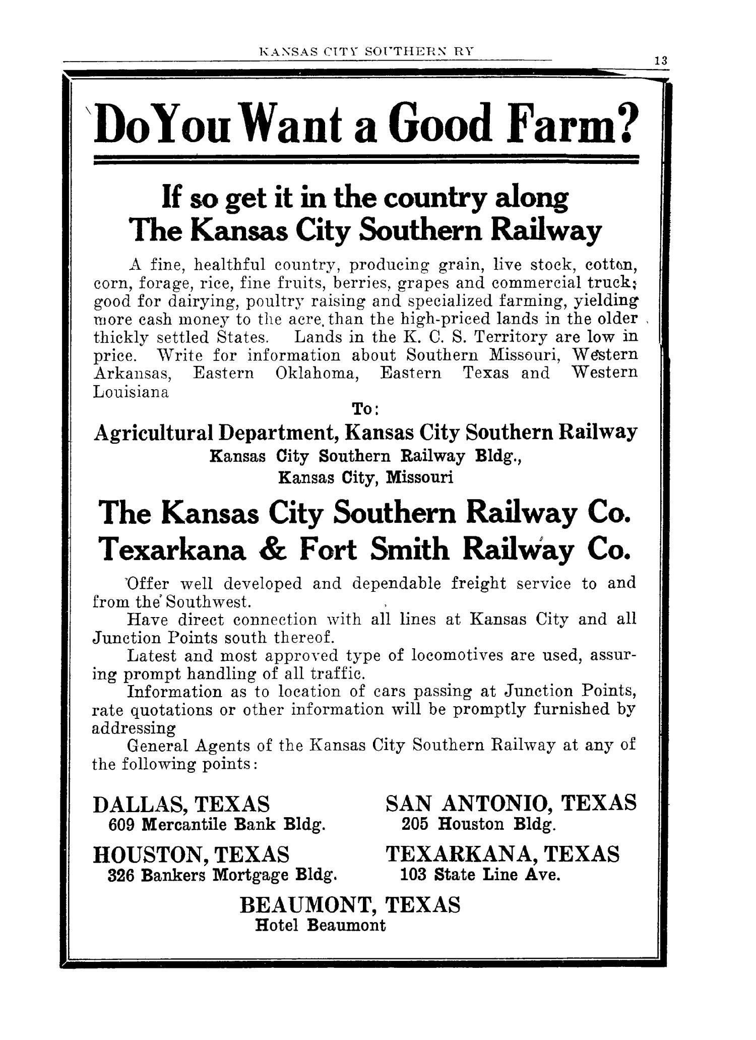 The 1928 Texas Almanac and State Industrial Guide                                                                                                      13