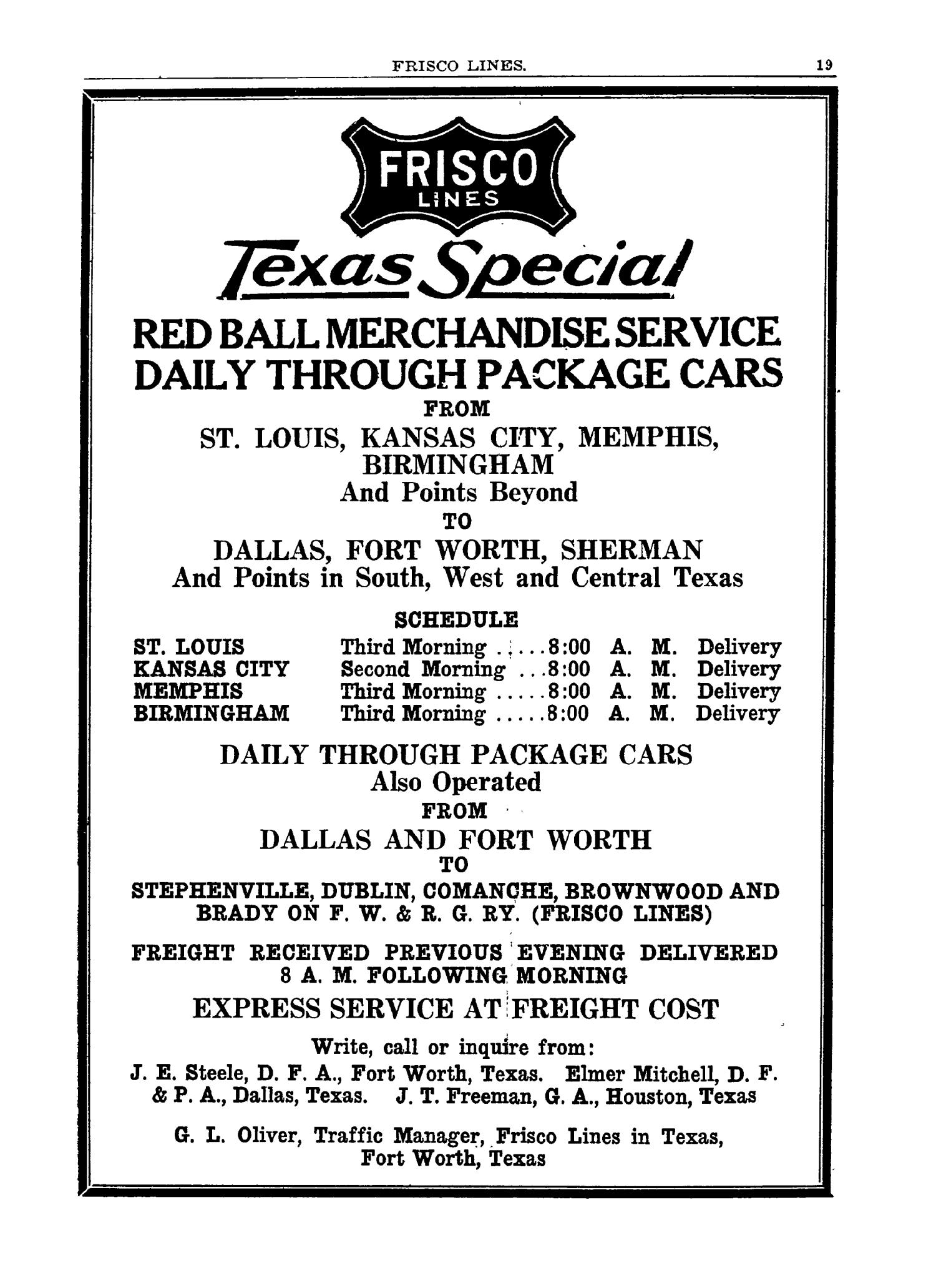 The 1928 Texas Almanac and State Industrial Guide                                                                                                      19