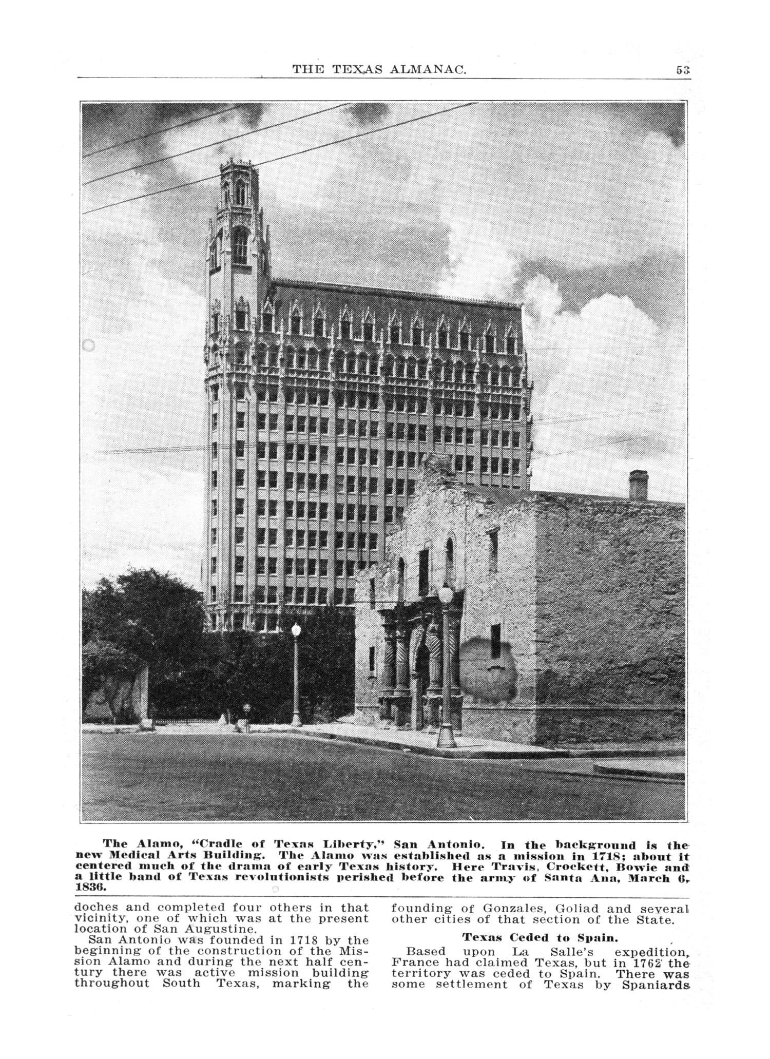 The 1928 Texas Almanac and State Industrial Guide                                                                                                      53