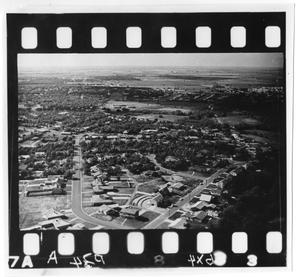 Primary view of object titled 'Aerial View of Denton, TX'.