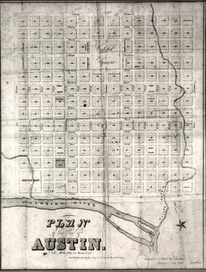 Primary view of object titled 'Plan of the City of Austin'.