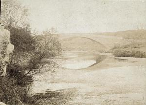 Primary view of object titled '[Bridge over Barton Creek]'.