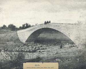 Primary view of object titled 'Bridge Across Barton Creek just above the pool'.