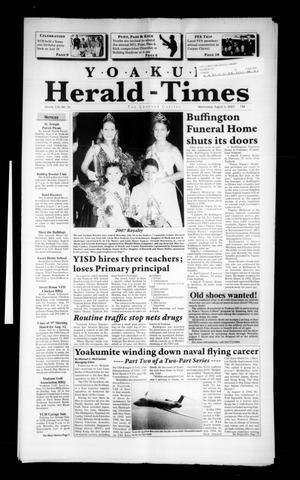 Yoakum Herald-Times (Yoakum, Tex.), Vol. 115, No. 31, Ed. 1 Wednesday, August 1, 2007