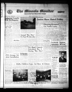 Primary view of object titled 'The Mineola Monitor (Mineola, Tex.), Vol. 91, No. 9, Ed. 1 Wednesday, April 26, 1967'.