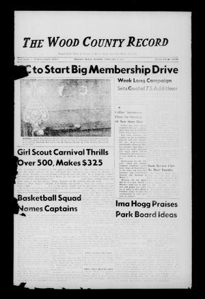 The Wood County Record (Mineola, Tex.), Vol. 28, No. 47, Ed. 1 Monday, February 16, 1959
