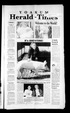 Yoakum Herald-Times (Yoakum, Tex.), Vol. 115, No. 2, Ed. 1 Wednesday, January 10, 2007