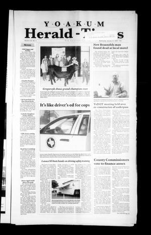 Yoakum Herald-Times (Yoakum, Tex.), Vol. 115, No. 3, Ed. 1 Wednesday, January 17, 2007