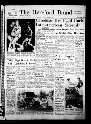 The Hereford Brand (Hereford, Tex.), Vol. 61, No. 52, Ed. 1 Thursday, December 27, 1962