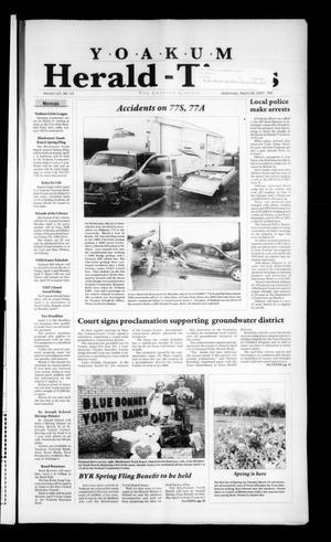 Yoakum Herald-Times (Yoakum, Tex.), Vol. 115, No. 13, Ed. 1 Wednesday, March 28, 2007