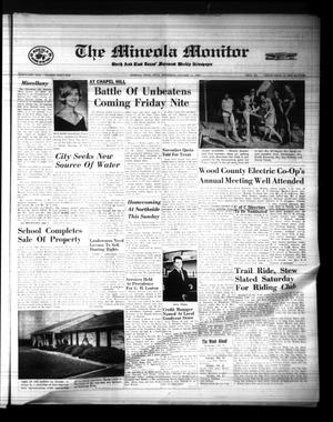 The Mineola Monitor (Mineola, Tex.), Vol. 91, No. 31, Ed. 1 Wednesday, October 11, 1967
