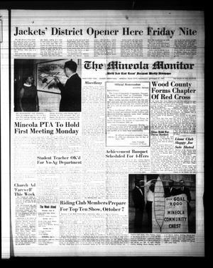 The Mineola Monitor (Mineola, Tex.), Vol. 91, No. 29, Ed. 1 Wednesday, September 27, 1967