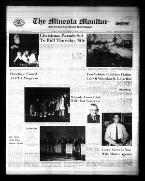The Mineola Monitor (Mineola, Tex.), Vol. 91, No. 39, Ed. 1 Wednesday, December 6, 1967