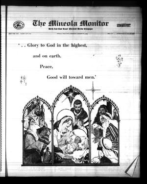 Primary view of object titled 'The Mineola Monitor (Mineola, Tex.), Vol. 91, No. 41, Ed. 1 Wednesday, December 20, 1967'.