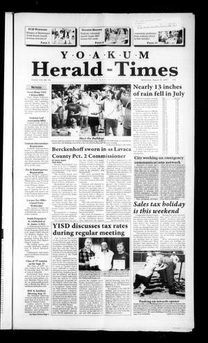 Yoakum Herald-Times (Yoakum, Tex.), Vol. 115, No. 33, Ed. 1 Wednesday, August 15, 2007