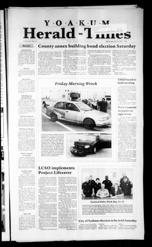 Yoakum Herald-Times (Yoakum, Tex.), Vol. 115, No. 19, Ed. 1 Wednesday, May 9, 2007