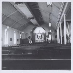 Primary view of object titled '[Sanctuary of St. David's Episcopal Church]'.