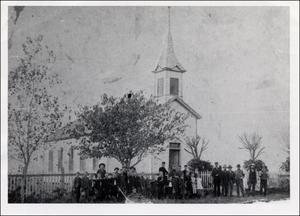 Primary view of [Exterior of Decker Methodist Church]