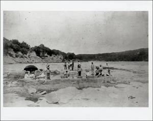 Primary view of object titled '[Santa Monica Springs of the Colorado River]'.