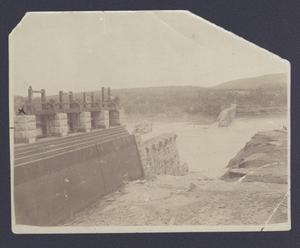 Primary view of object titled '[Austin Dam Broken after Flood]'.