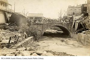 Primary view of [Aftermath of 1915 flood]