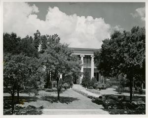 Primary view of object titled '[Front Exterior of Governor's Mansion]'.