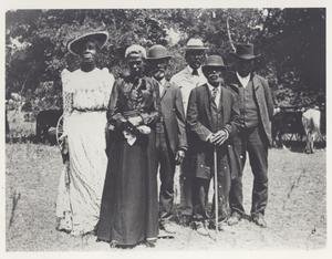 Primary view of object titled '[Emancipation Day Celebration, June 19, 1900]'.