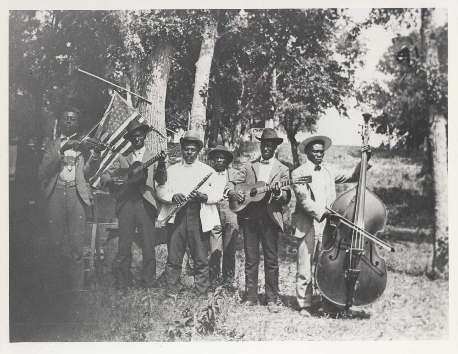 [Emancipation Day Celebration band, June 19, 1900]                                                                                                      [Sequence #]: 1 of 1