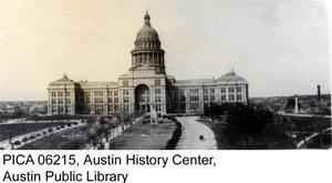 Primary view of object titled '[Copy of Photograph of 1919 Texas State Capitol]'.