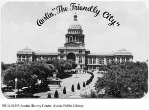 "Primary view of object titled 'Austin, ""The Friendly City""'."