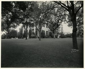 Primary view of [Governor's Mansion from the grounds]