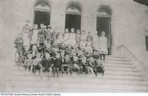 Primary view of object titled '[Pease Elementary School Students]'.