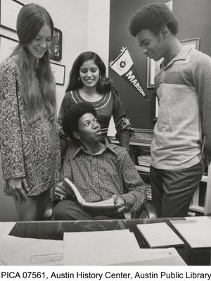 Primary view of object titled '[Photograph of Austin High School Student Council]'.