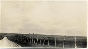 Primary view of object titled '[Travis County Road and Field]'.