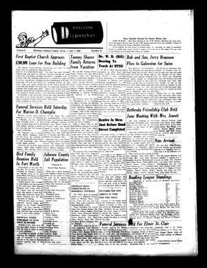 Burleson Dispatcher (Burleson, Tex.), Vol. 6, No. 31, Ed. 1 Wednesday, July 7, 1965