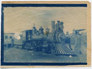 Primary view of object titled '[Rogers Locomotive Works Locomotive]'.