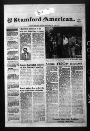 Stamford American (Stamford, Tex.), Vol. 71, No. 27, Ed. 1 Thursday, October 1, 1992