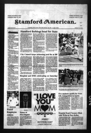 Stamford American (Stamford, Tex.), Vol. 71, No. 6, Ed. 1 Thursday, May 7, 1992