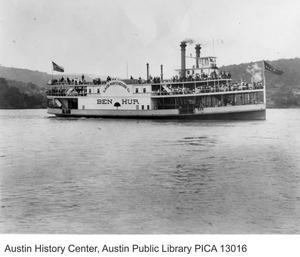 Primary view of object titled 'Ben Hur Steamboat'.