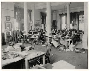Primary view of object titled '[Interior room at Capitol]'.