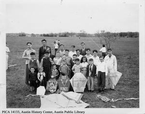 Primary view of object titled 'Austin Annual Kite Tournament, 1942'.